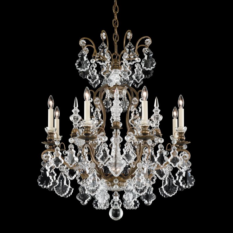 "Schonbek 2771 26 1/2"" Wide 9 Light Candle Style Chandelier from the"