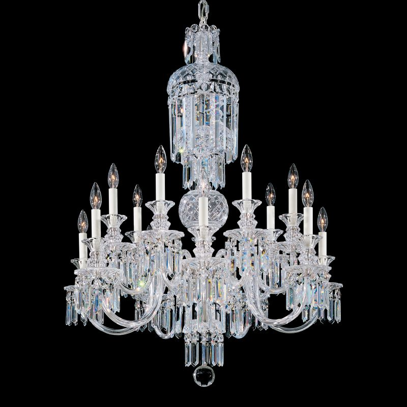 "Schonbek 5034 32"" Wide 14 Light Candle Style Chandelier from the"