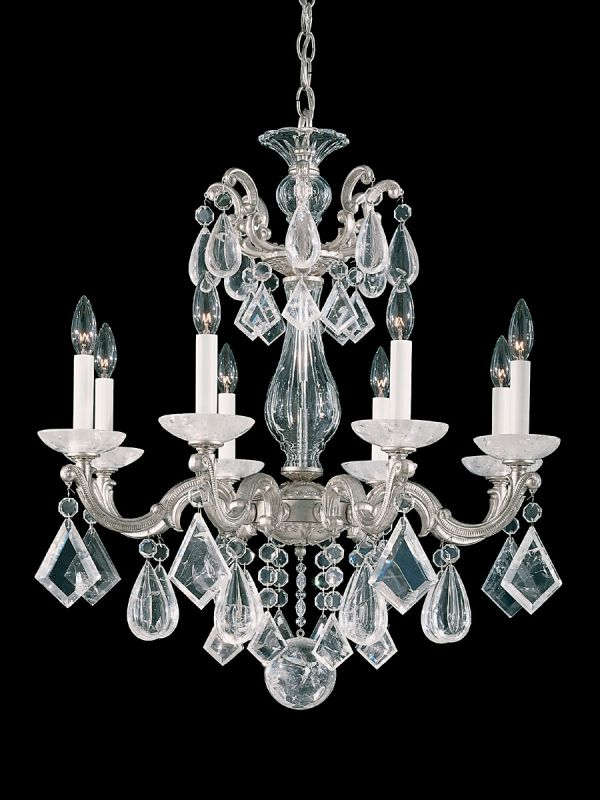 "Schonbek 5473 25"" Wide 8 Light Candle Style Chandelier from the La Sale $5690.00 ITEM: bci2799668 ID#:5473-48 :"