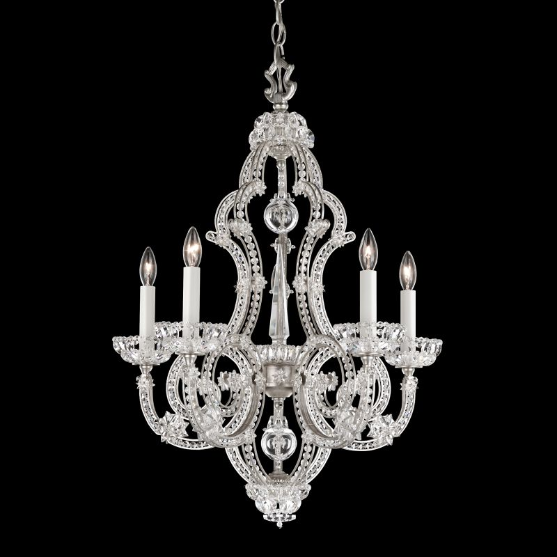 "Schonbek 9621 20"" Wide 5 Light Chandelier from the Scheherazade Sale $5670.00 ITEM: bci2800166 ID#:9621-48 :"