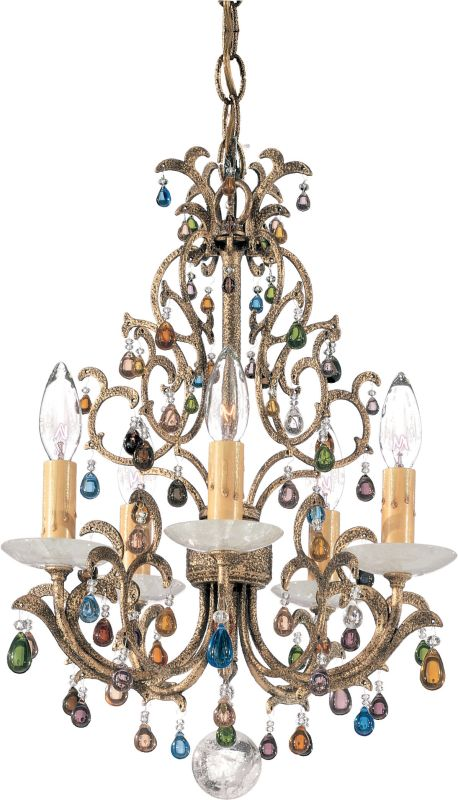 "Schonbek 9875 13"" Wide 5 Light Candle Style Chandelier from the Sale $2390.00 ITEM: bci1014619 ID#:9875 UPC: 771857151671 :"