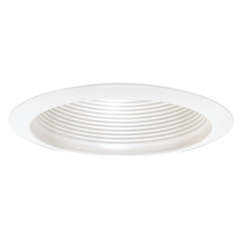 "Sea Gull Lighting 1151AT 6"" Air Tight Baffle Trim White Recessed"