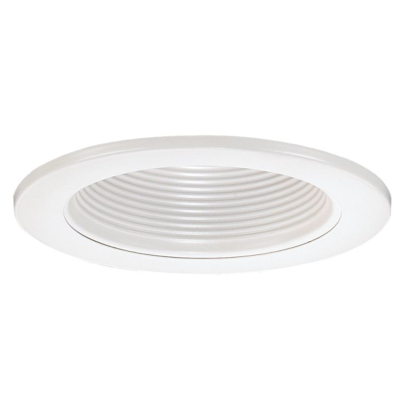 "Sea Gull Lighting 1156AT Recessed Trims 4"" Air Tight Baffle Trim White"