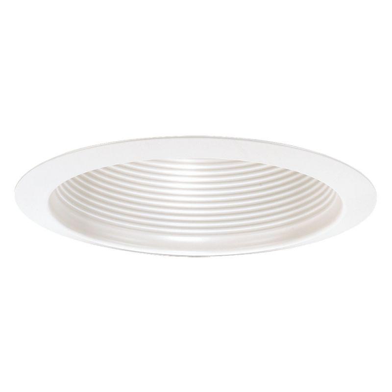 """Sea Gull Lighting 1157AT 6"""" Air Tight Deep Cone Baffle Trim White"""