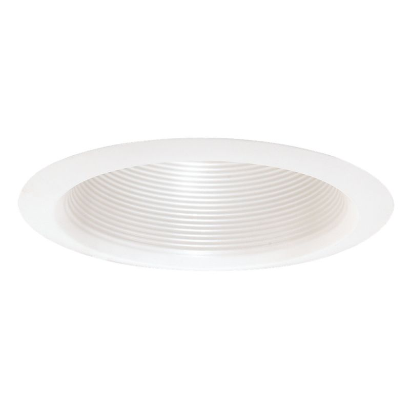 "Sea Gull Lighting 1158AT Recessed Trims 6"" Air Tight Baffle Trim White"