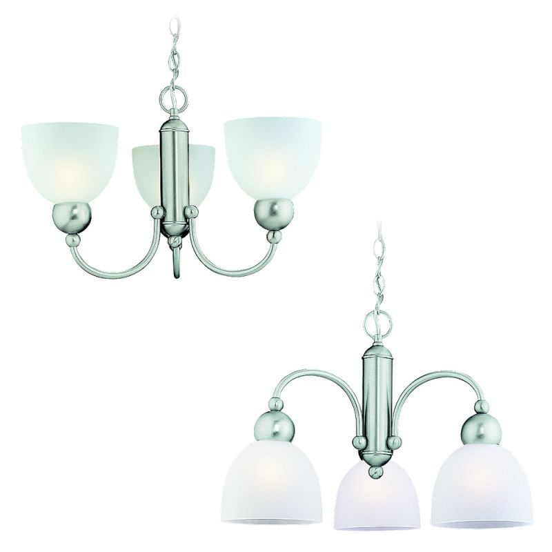 Sea Gull Lighting 31035 3 Light Down Lighting Chandelier from the Sale $135.30 ITEM: bci66319 ID#:31035-962 UPC: 785652310386 :