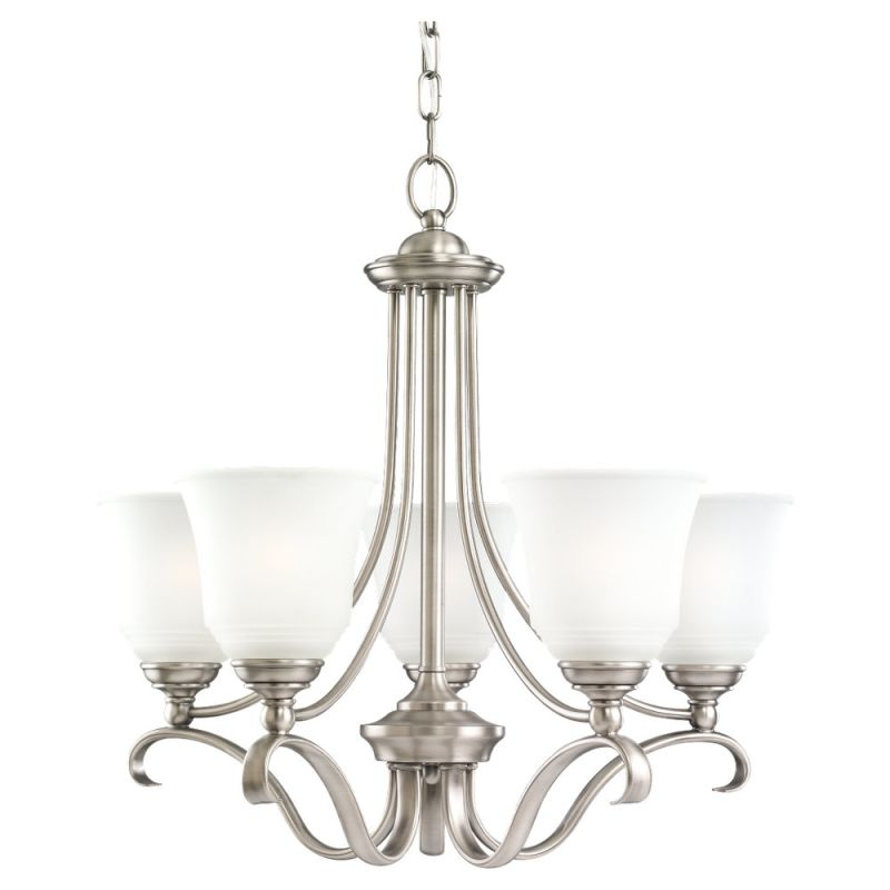 Sea Gull Lighting 31380 Five Light Chandelier from the Parkview Sale $412.00 ITEM: bci529689 ID#:31380-965 UPC: 785652380969 :
