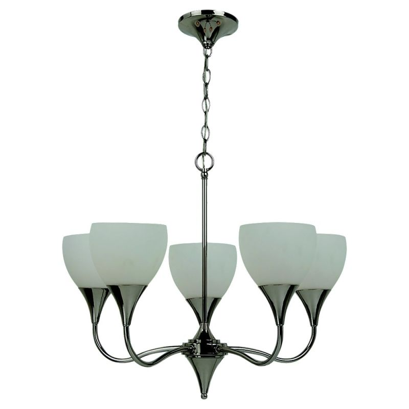 Sea Gull Lighting 31961 Five Light Chandelier from the Solana
