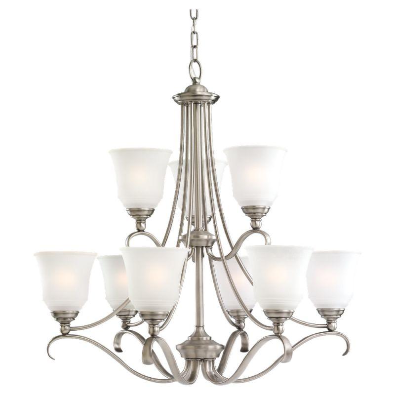 Sea Gull Lighting 39381BLE Nine Light Fluorescent Chandelier Antique Sale $914.30 ITEM: bci832588 ID#:39381BLE-965 UPC: 785652393839 :