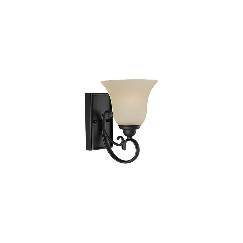 Sea Gull Lighting 41120 Del Prato 1 Light Reversible Wall Sconce