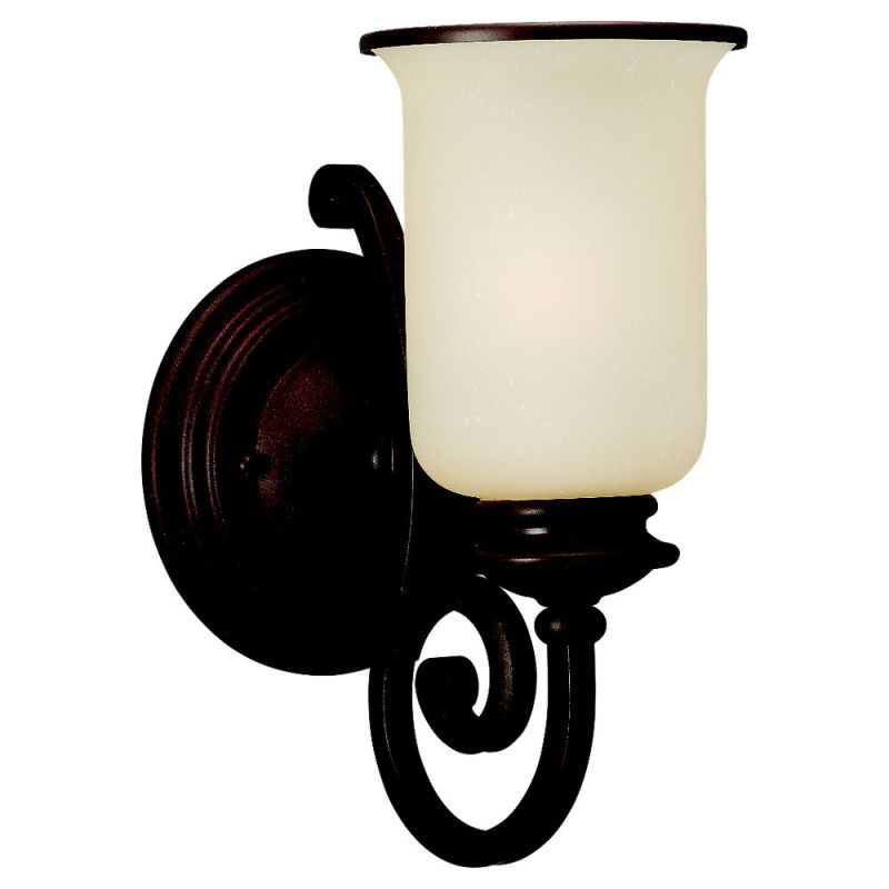 Sea Gull Lighting 41145 Acadia 1 Light Wall Sconce Misted Bronze Sale $36.00 ITEM: bci529753 ID#:41145-814 UPC: 785652411458 :
