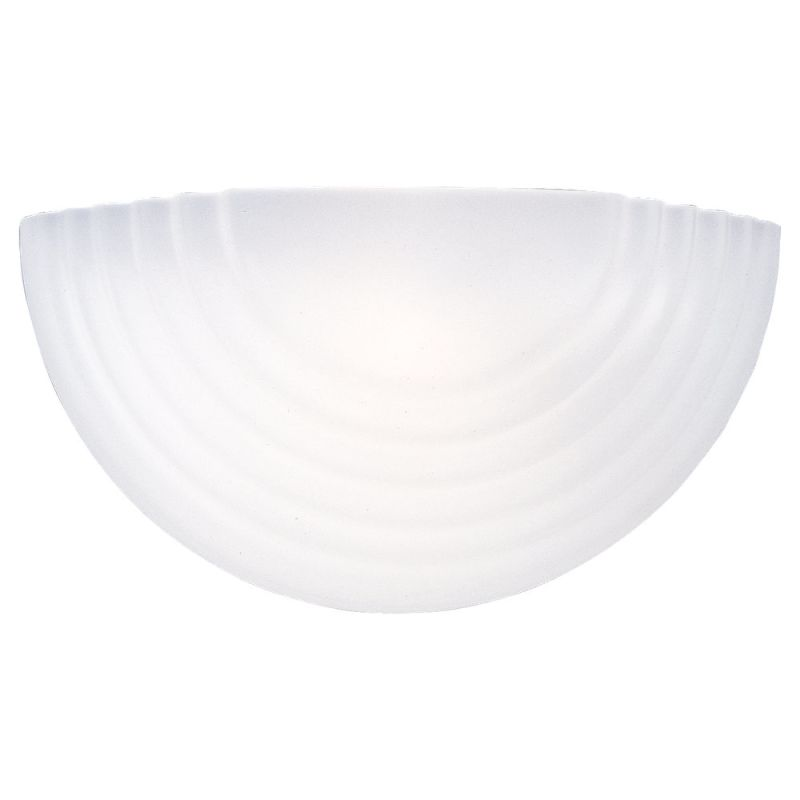 Sea Gull Lighting 4123 Acadia 1 Light Wall Washer Sconce White Indoor