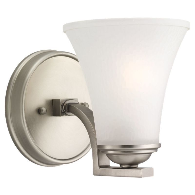 Sea Gull Lighting 41375 Somerton 1 Light Reversible Wall Sconce