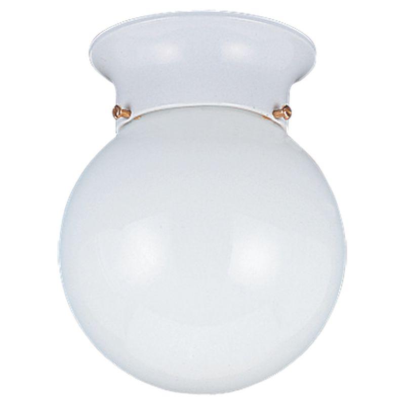 Sea Gull Lighting 5366 Tomkin 1 Light Flush Mount Ceiling Fixture