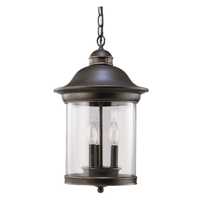 Sea Gull Lighting 60081 Hermitage 3 Light Outdoor Lantern Pendant