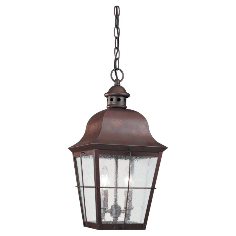 Sea Gull Lighting 6062 Chatham 2 Light Outdoor Small Lantern Pendant Sale $257.60 ITEM: bci90489 ID#:6062-44 UPC: 785652606243 :