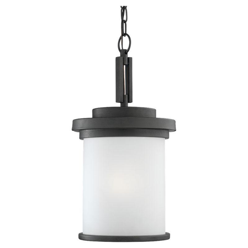 Sea Gull Lighting 60660 Winnetka 1 Light Outdoor Small Lantern Pendant