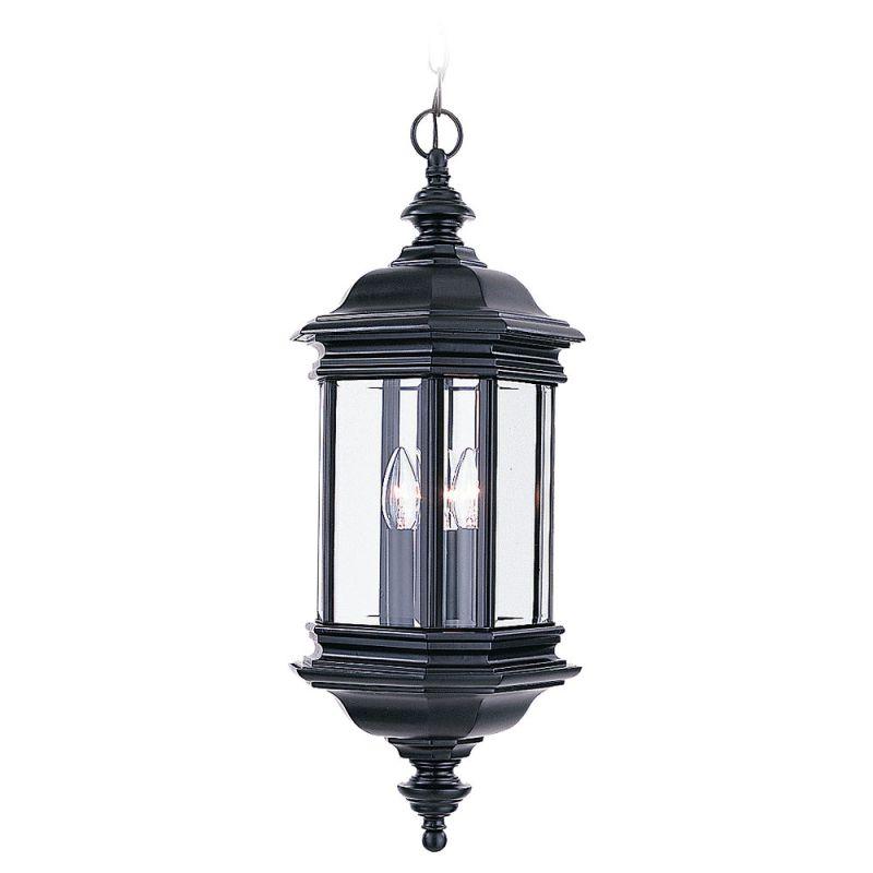 Sea Gull Lighting 6637 Hill Gate 3 Light Outdoor Small Lantern Pendant