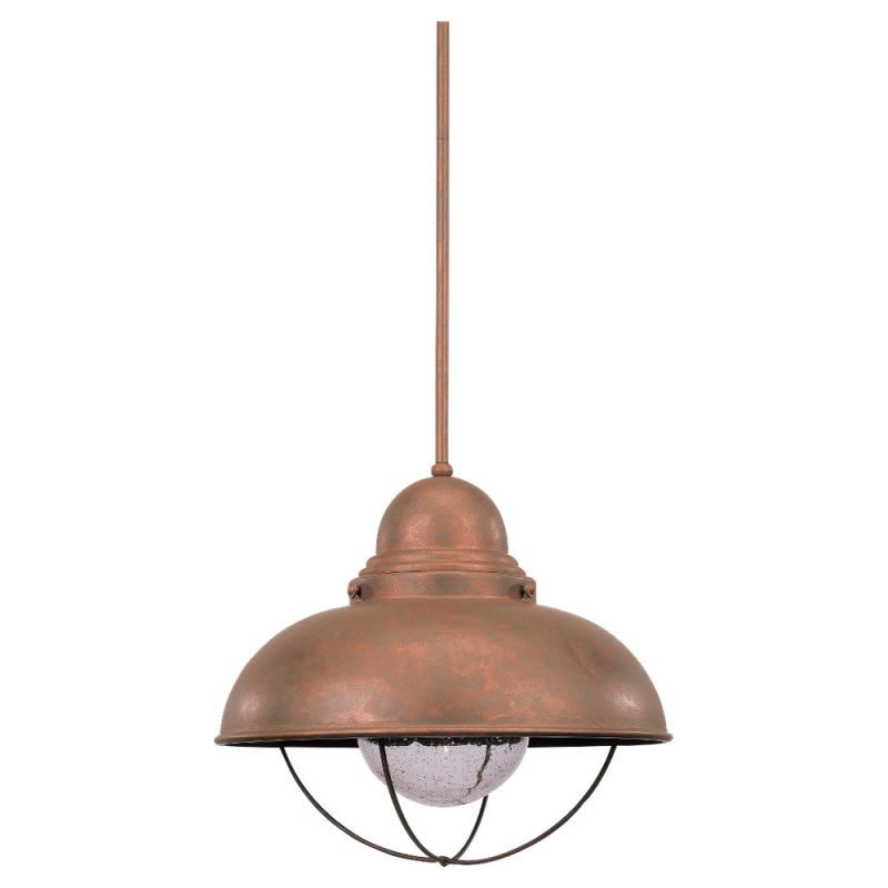 Sea Gull Lighting 6658 Sebring 1 Light Outdoor Full Sized Pendant