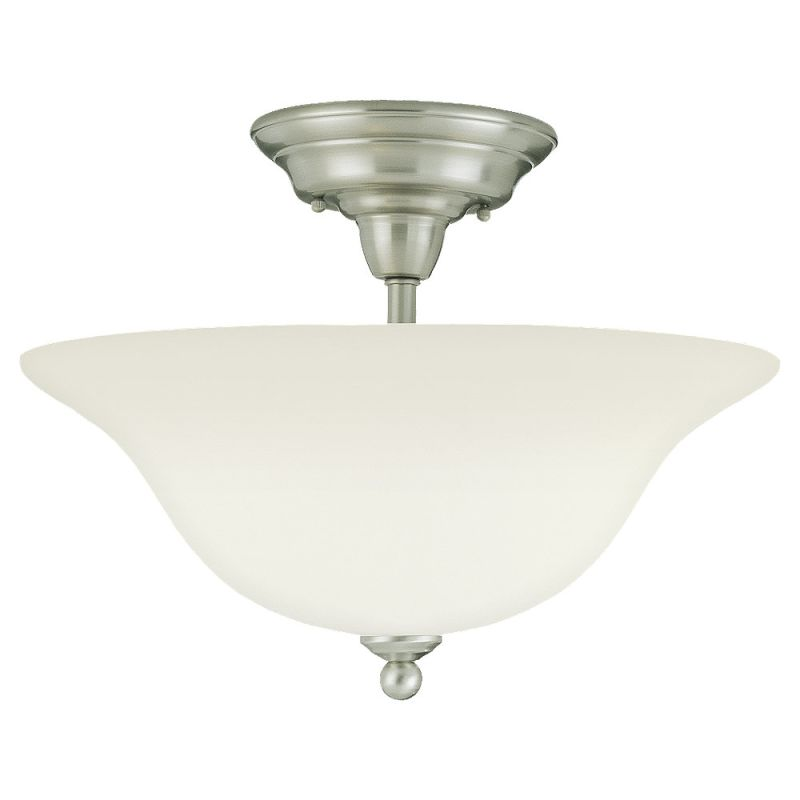Sea Gull Lighting 75061 Sussex 3 Light Semi-Flush Ceiling Fixture Sale $104.60 ITEM: bci275582 ID#:75061-962 UPC: 785652750649 :