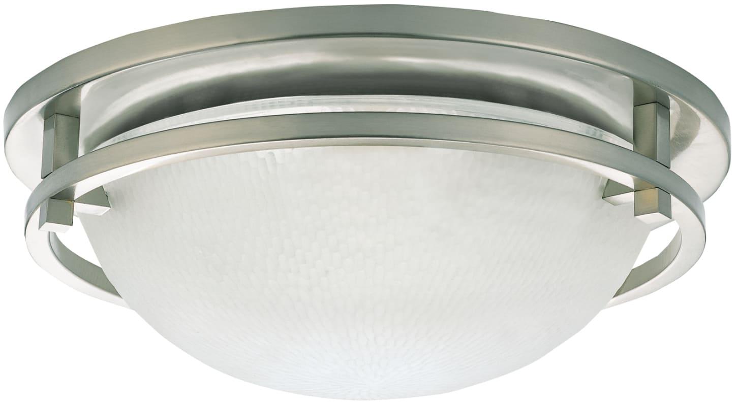 Sea Gull Lighting 44236 962 2 Light Brushed Nickel: Sea Gull Lighting 75114-962 Brushed Nickel Eternity 2