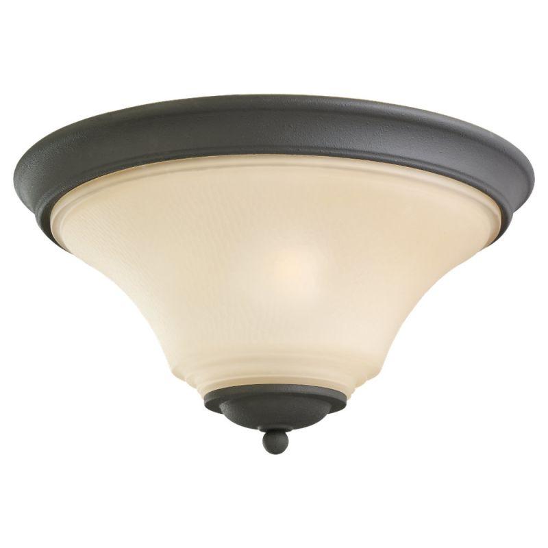 Sea Gull Lighting 75375 Somerton 2 Light Flush Mount Ceiling Fixture