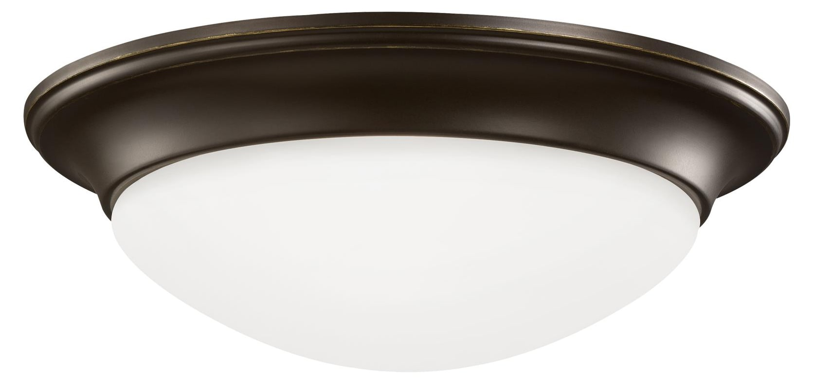Sea Gull Lighting 75435 Nash 2 Light Flush Mount Ceiling Fixture