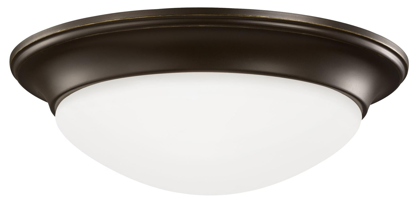 Sea Gull Lighting 75436 Nash 3 Light Flush Mount Ceiling Fixture