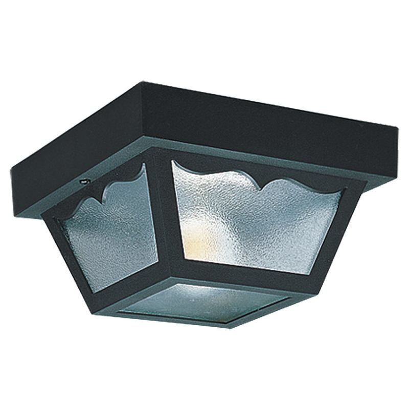 lighting 7569 32 clear outdoor ceiling 1 light flush mount ceiling
