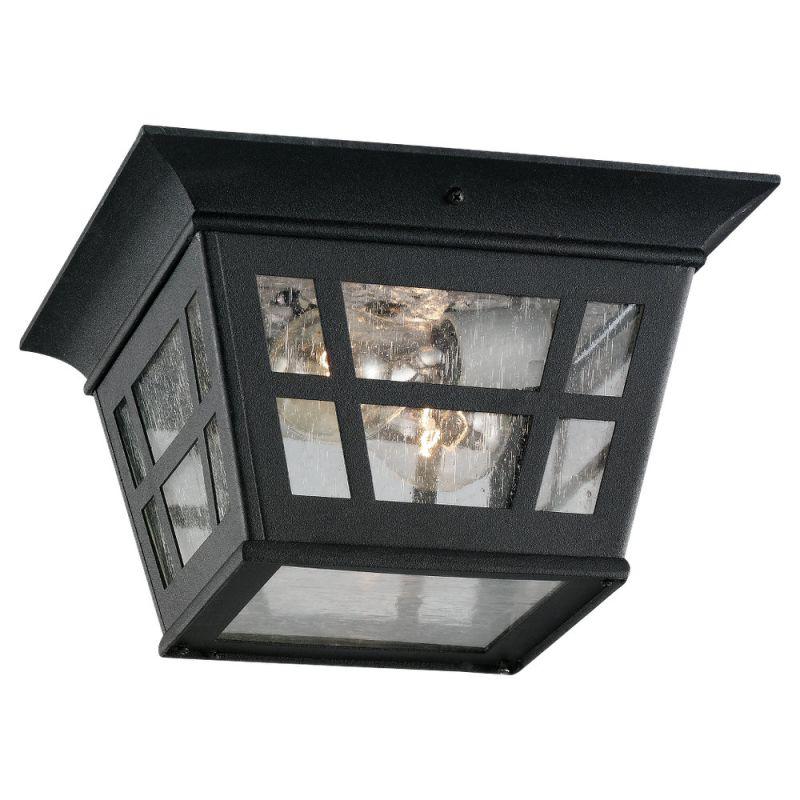 Sea Gull Lighting 78131 Herrington 2 Light Outdoor Flush Mount Ceiling