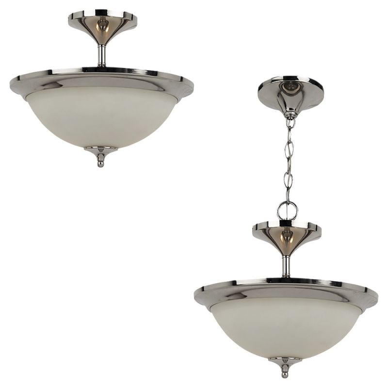 Sea Gull Lighting 79771BLE Solana 2 Light Energy Star Semi-Flush