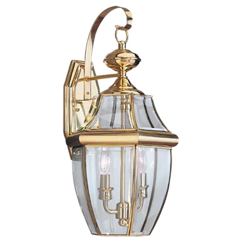 Sea Gull Lighting 8039 Lancaster 2 Light Outdoor Lantern Wall Sconce Sale $181.20 ITEM: bci277399 ID#:8039-02 UPC: 785652803925 :