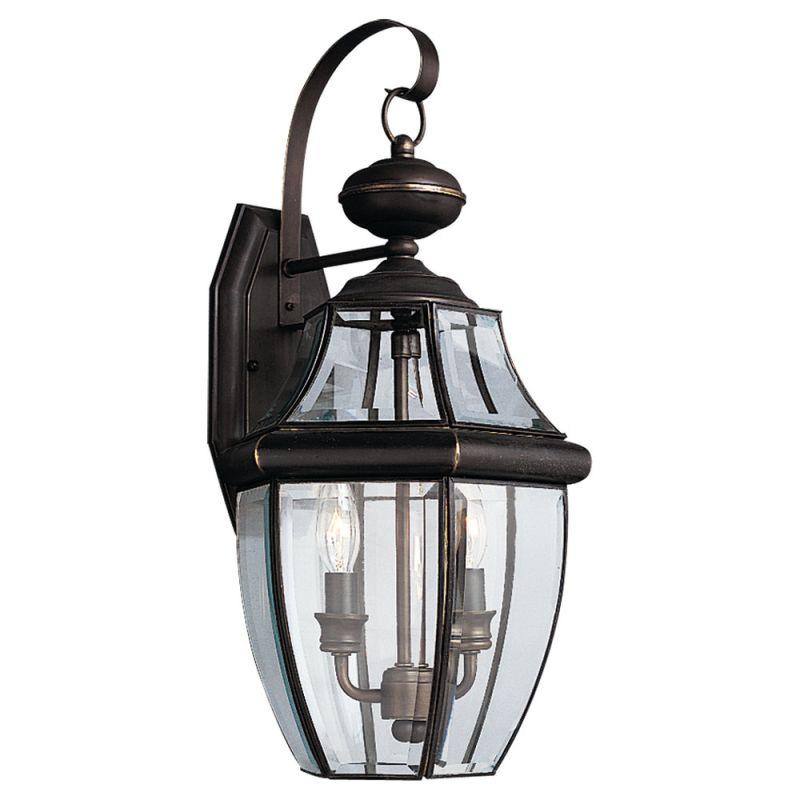 Sea Gull Lighting 8039 Lancaster 2 Light Outdoor Lantern Wall Sconce Sale $181.20 ITEM: bci277396 ID#:8039-71 UPC: 785652803987 :