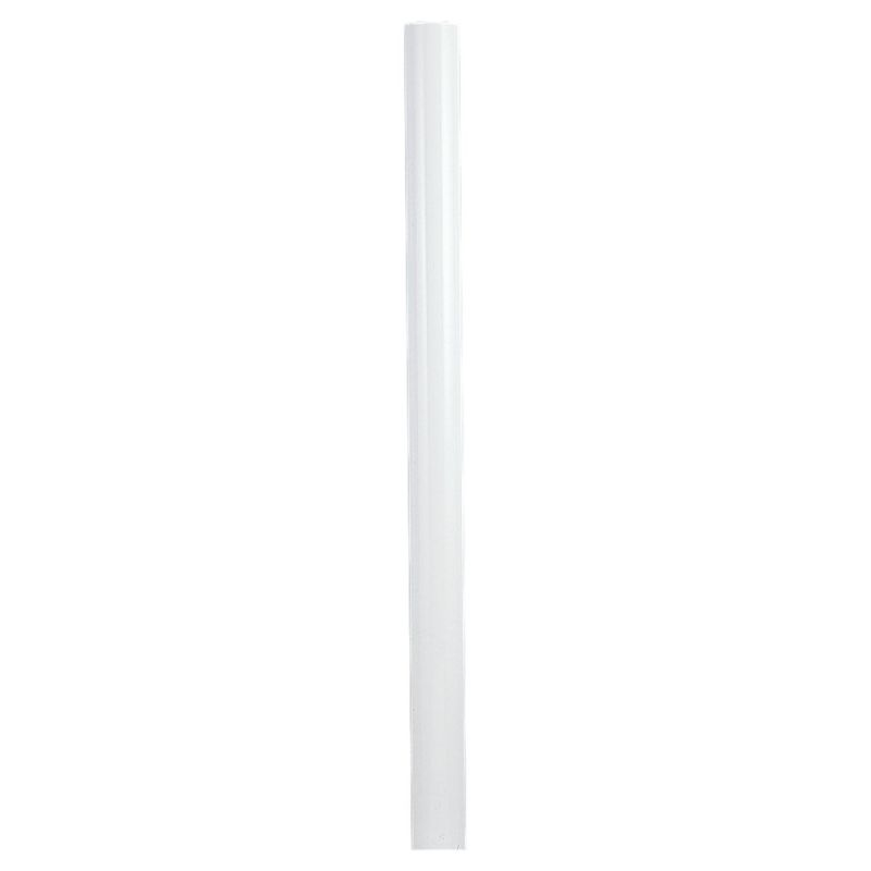 Sea Gull Lighting 8102 84 Inch Tall Outdoor Steel Post White Outdoor