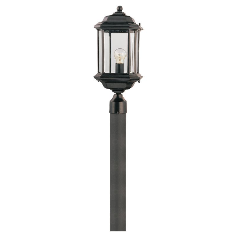 Sea Gull Lighting 82029 Kent 1 Light Outdoor Lantern Post Light Black Sale $74.70 ITEM: bci278088 ID#:82029-12 UPC: 785652820298 :