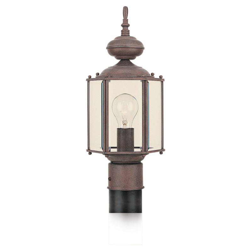 Sea Gull Lighting 8209 Classico 1 Light Outdoor Lantern Post Light
