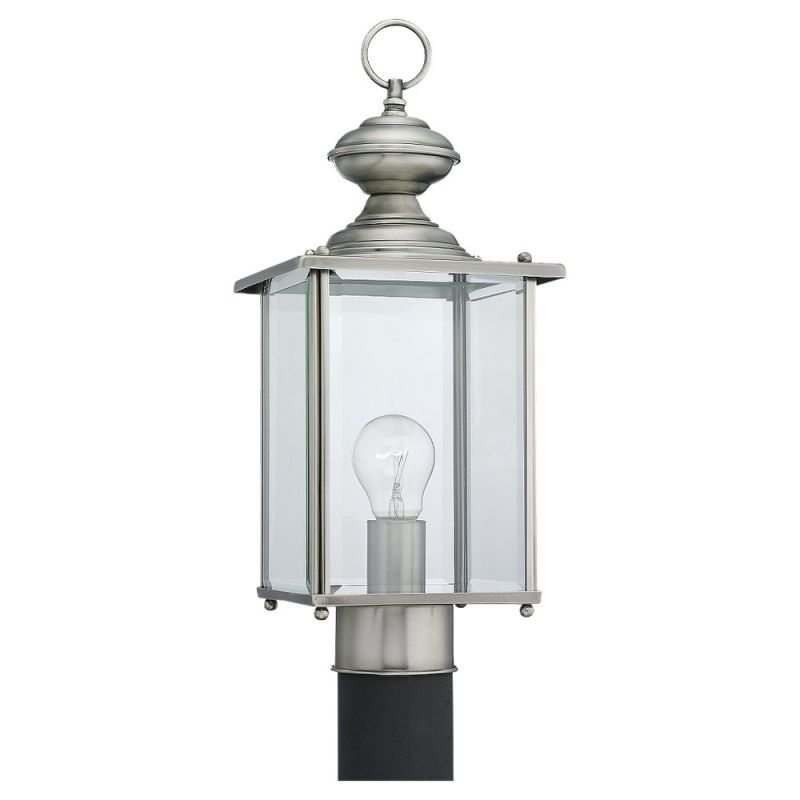 Sea Gull Lighting 8257 Flat Glass & Brass Lantern 1 Light Outdoor Sale $107.00 ITEM: bci518869 ID#:8257-965 UPC: 785652082597 :