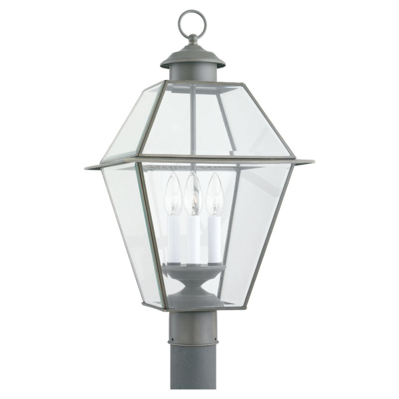 Sea Gull Lighting 8258 Traditional Brass & Glass 3 Light Outdoor Sale $101.00 ITEM: bci518870 ID#:8258-71 UPC: 785652825880 :