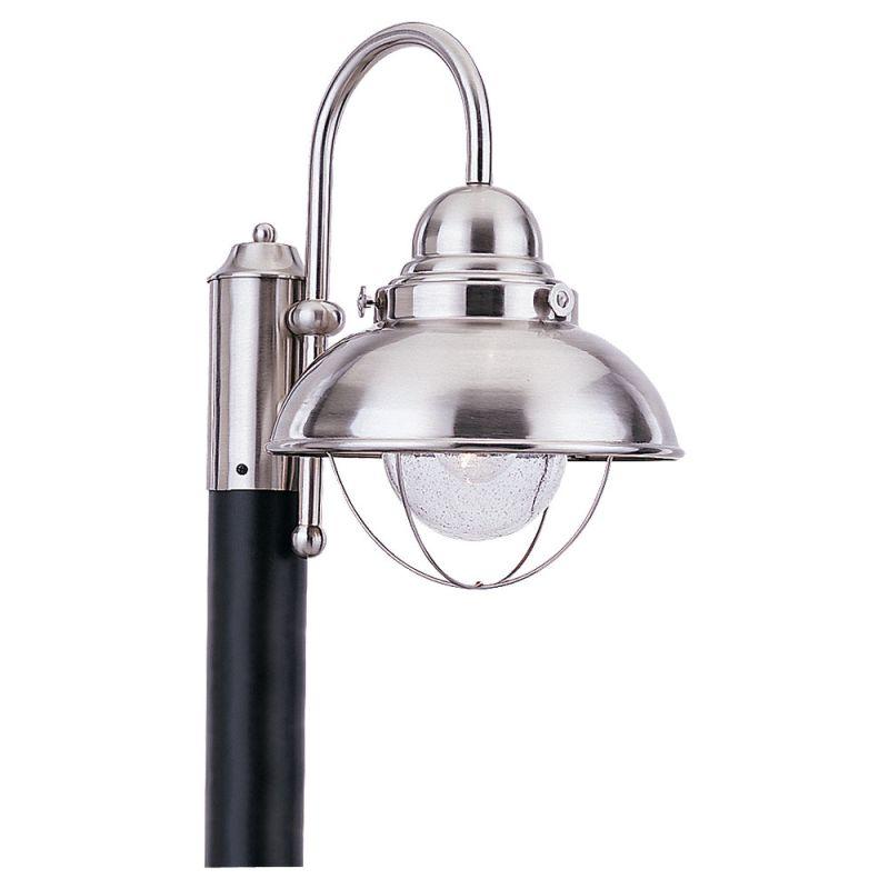 Sea Gull Lighting 8269 Sebring 1 Light Outdoor Post Light Brushed