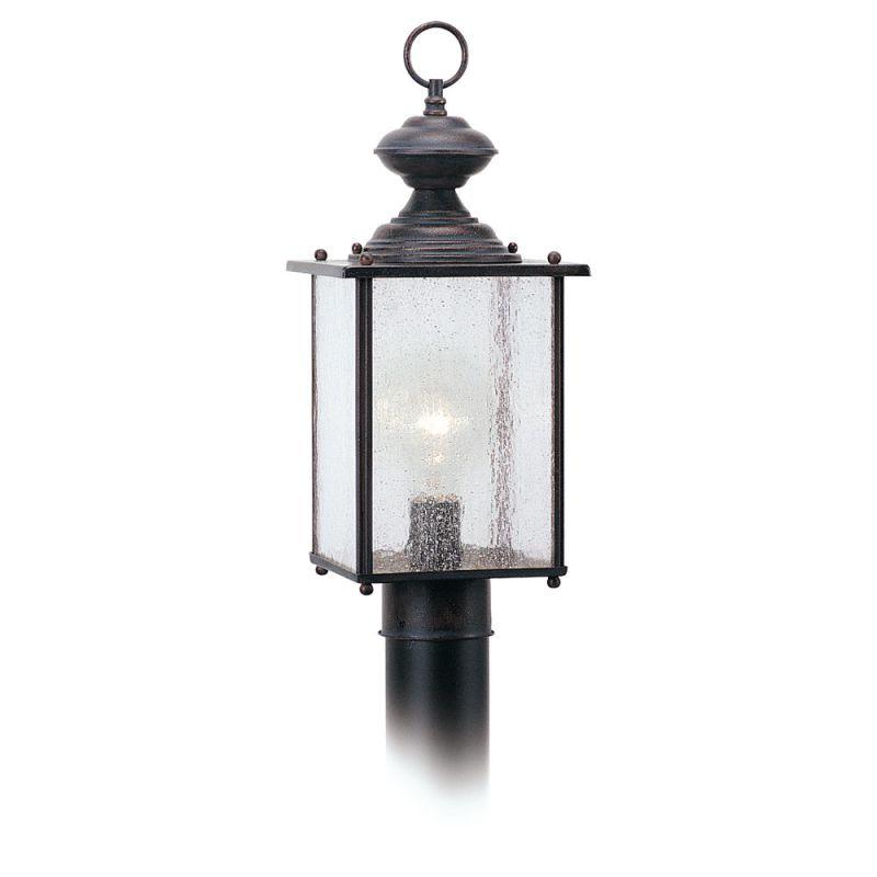 Sea Gull Lighting 8286 Jamestowne 1 Light Outdoor Lantern Post Light