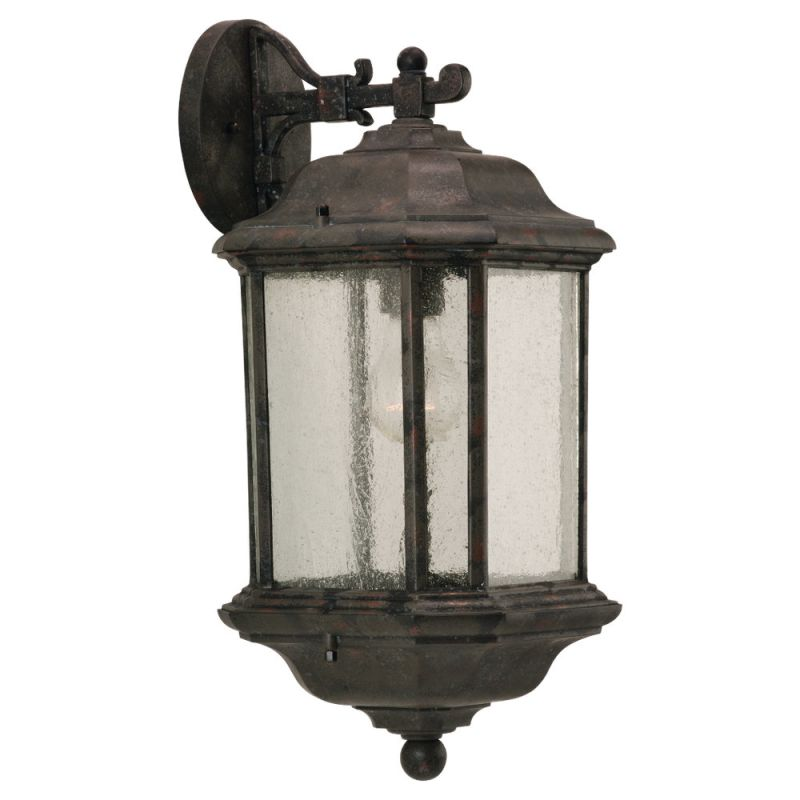 Sea Gull Lighting 84030 Kent 1 Light Outdoor Lantern Wall Sconce Sale $71.80 ITEM: bci278542 ID#:84030-746 UPC: 785652840371 :