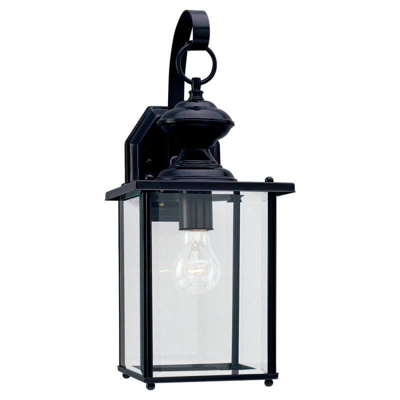 Sea Gull Lighting 8458 Jamestowne 1 Light Outdoor Lantern Wall Sconce Sale $89.60 ITEM: bci278672 ID#:8458-12 UPC: 785652845819 :