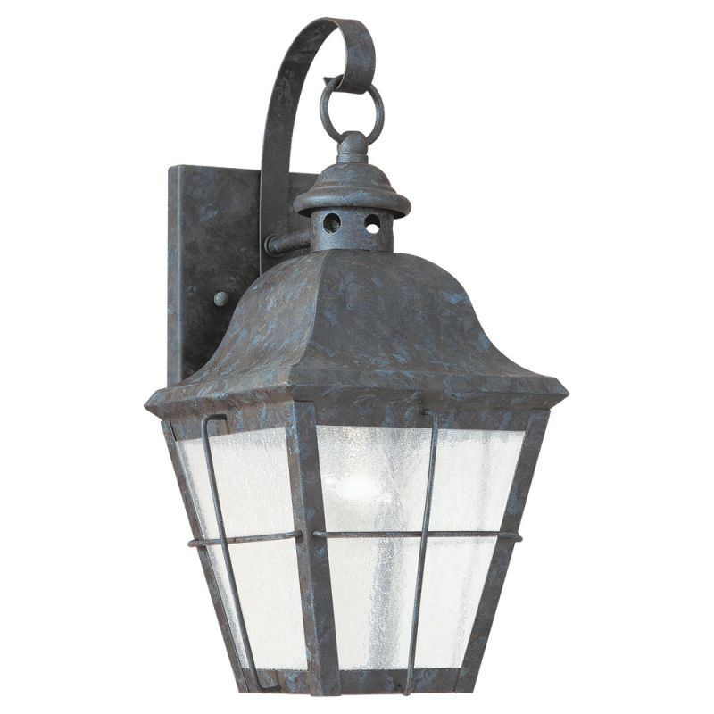 Sea Gull Lighting 8462 Colonial Styling 1 Light Outdoor Lantern Wall Sale $148.20 ITEM: bci278694 ID#:8462-46 UPC: 785652846267 :