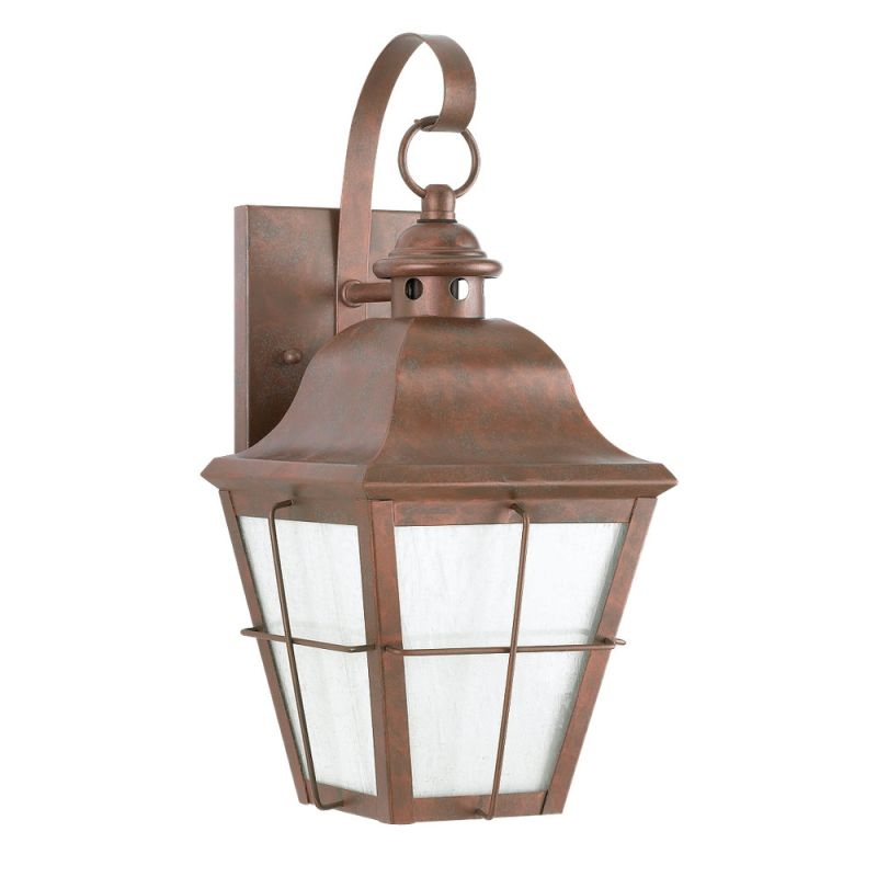 Sea Gull Lighting 8462D Chatham 1 Light Outdoor Lantern Wall Sconce