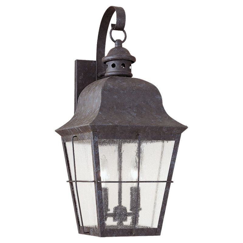 Sea Gull Lighting 8463 46 Oxidized Bronze Colonial Styling