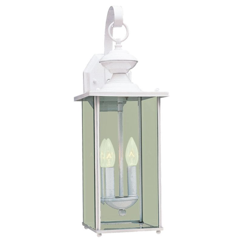 Sea Gull Lighting 8468 Jamestowne 2 Light Outdoor Lantern Wall Sconce