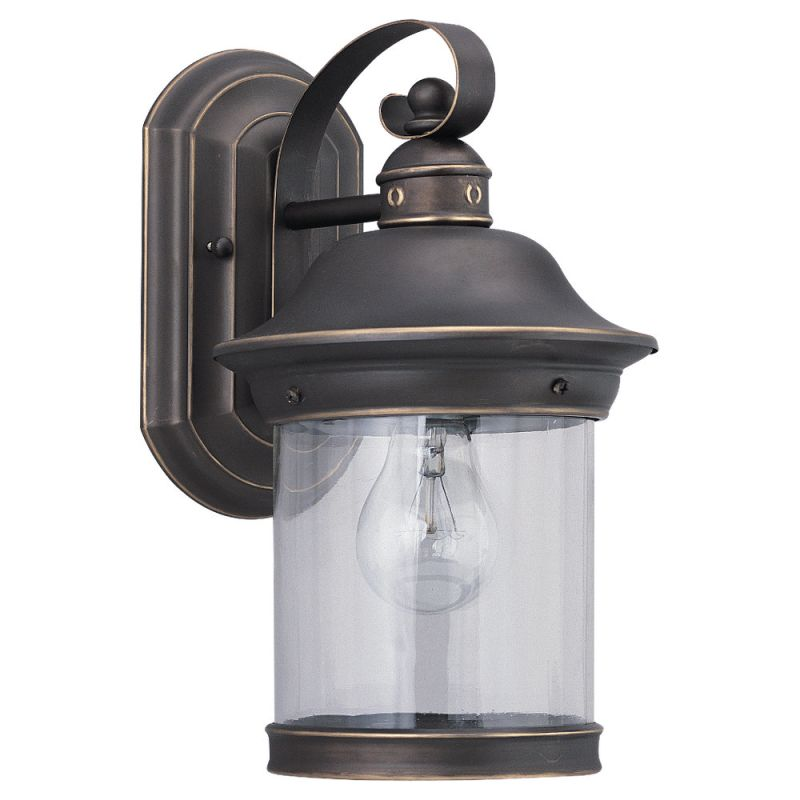 Sea Gull Lighting 88081 Hermitage 1 Light Outdoor Lantern Wall Sconce