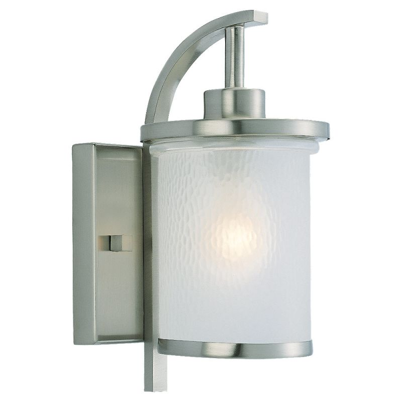 Sea Gull Lighting 88116 Eternity 1 Light Outdoor Wall Sconce Brushed
