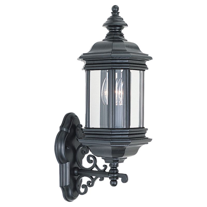 Sea Gull Lighting 8838 Hill Gate 2 Light Outdoor Lantern Wall Sconce
