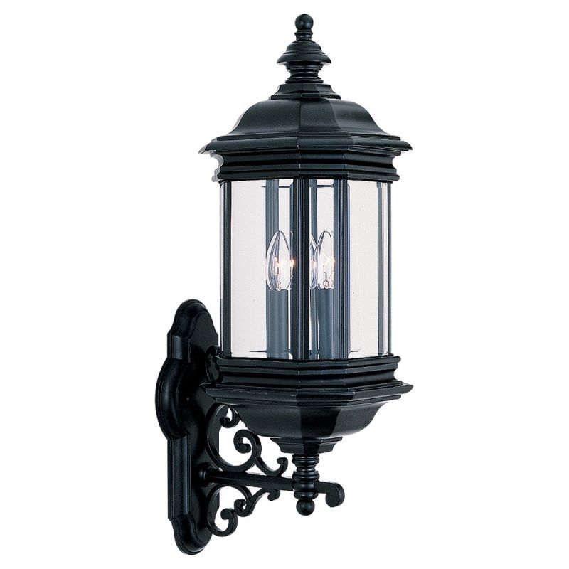 Sea Gull Lighting 8839 Hill Gate 3 Light Outdoor Lantern Wall Sconce